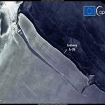 Iceberg gigante se separa de la Antártida