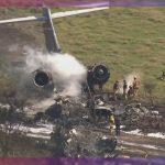 [VIDEO] Se estrella avión cerca de aeropuerto en Houston, Texas