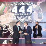 Saltillo cumple 444 años con estándares de avanzada nacional, celébra Gobernador