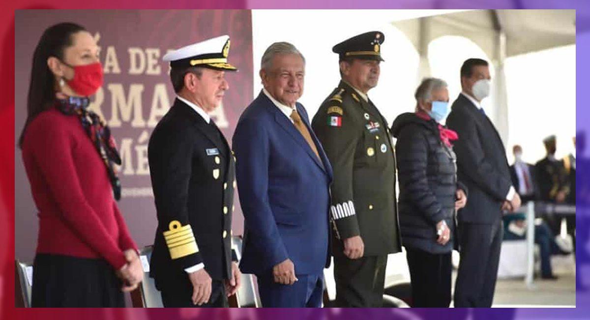 AMLO envía iniciativa para dar más atribuciones a la Marina Armada de México