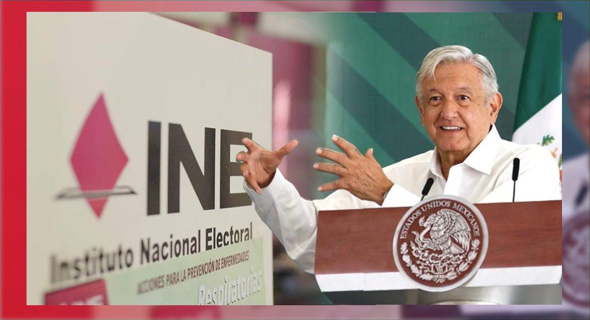 AMLO pretende reformar la constitución para 'consolidar' al INE