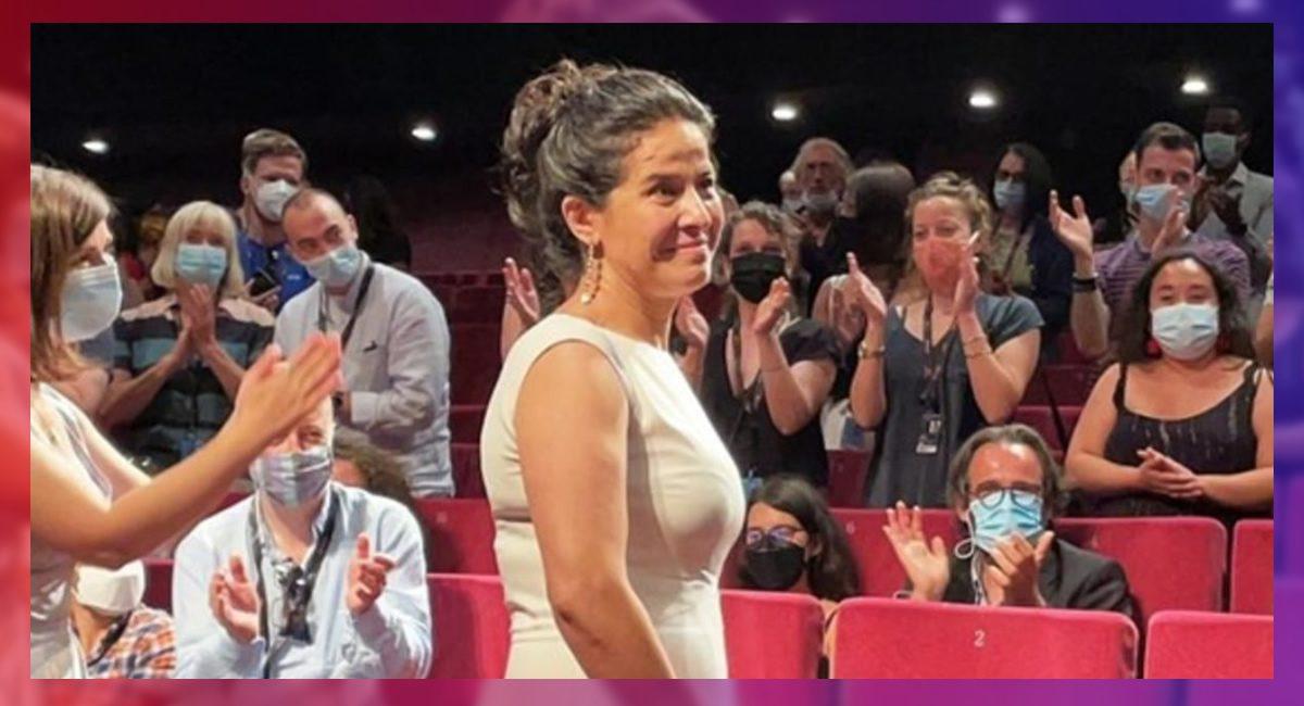 Arcelia Ramírez es ovacionada en el Festival de Cannes