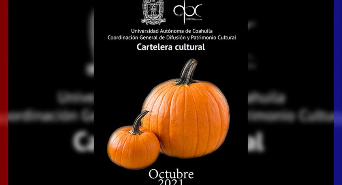 Cartelera cultural UAdeC Octubre