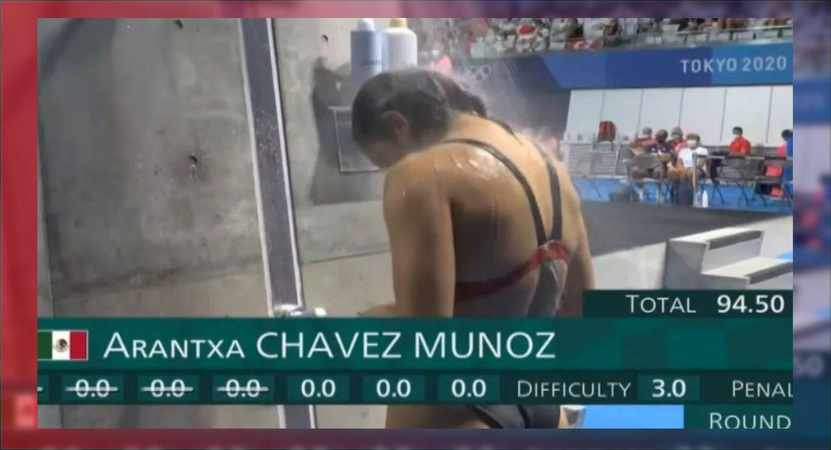 Clavado de cero puntos para la mexicana Arantxa Chávez