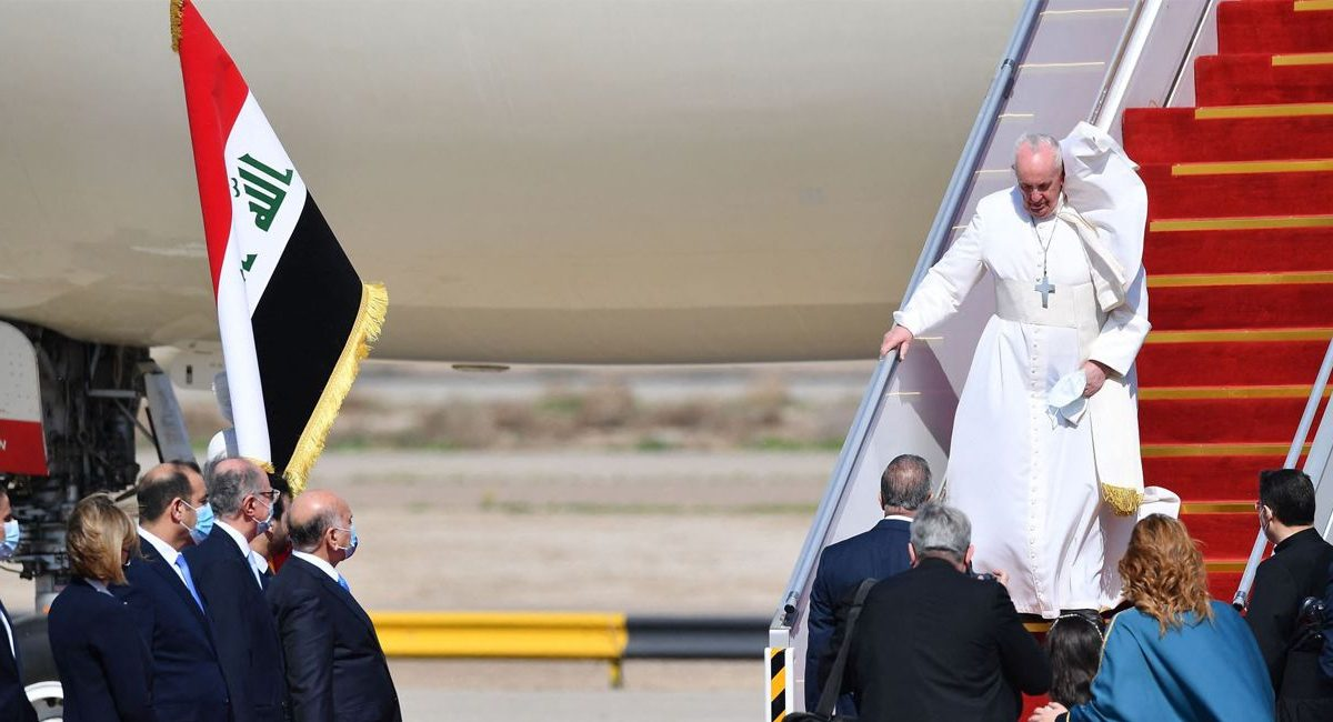 El papa Francisco visita Irak
