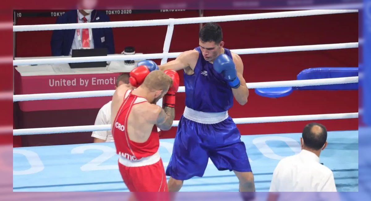 El pugilista mexicano Rogelio Romero avanzó a cuartos de final en la categoría semipesado en Tokio2020