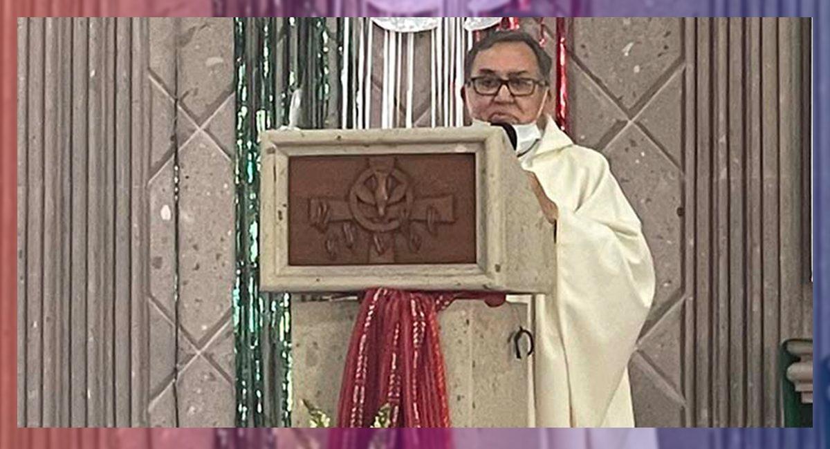 El sacerdote Lázaro Hernández Soto