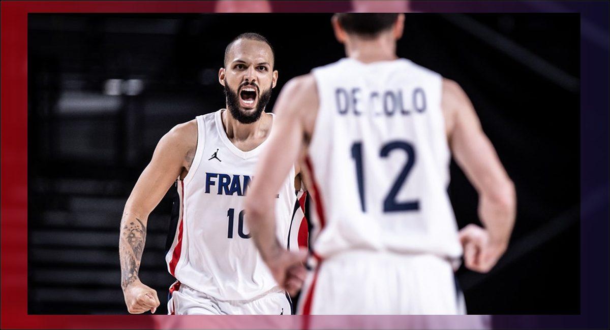 Francia avanza a la final de basketball en Tokio 2020 ante EU