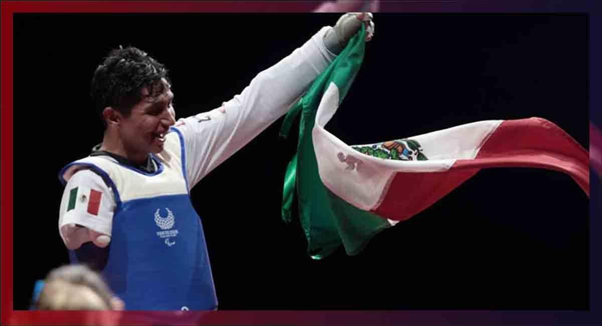 Juan Diego García consiguió la medalla de oro en taekwondo paralímpico