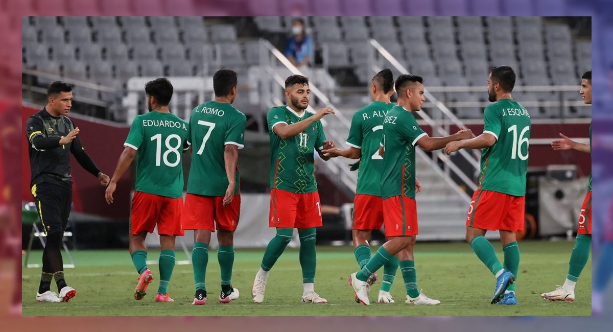 México derrotó 3 goles a 0 a Sudáfrica para avanzar a cuartos de final en su búsqueda por el oro olímpico en Tokio2020