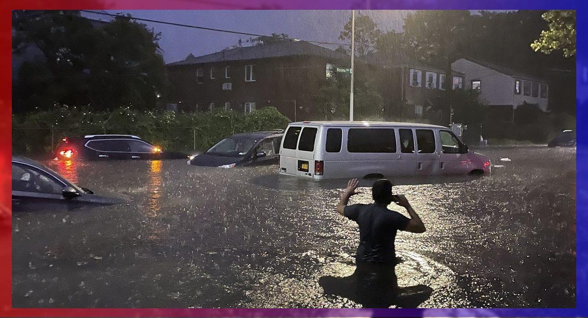 Nueva York amaneció inundado tras el paso del huracán Ida