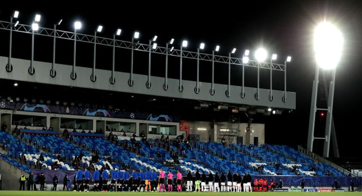 Real Madrid en el Alfredo di Stefano