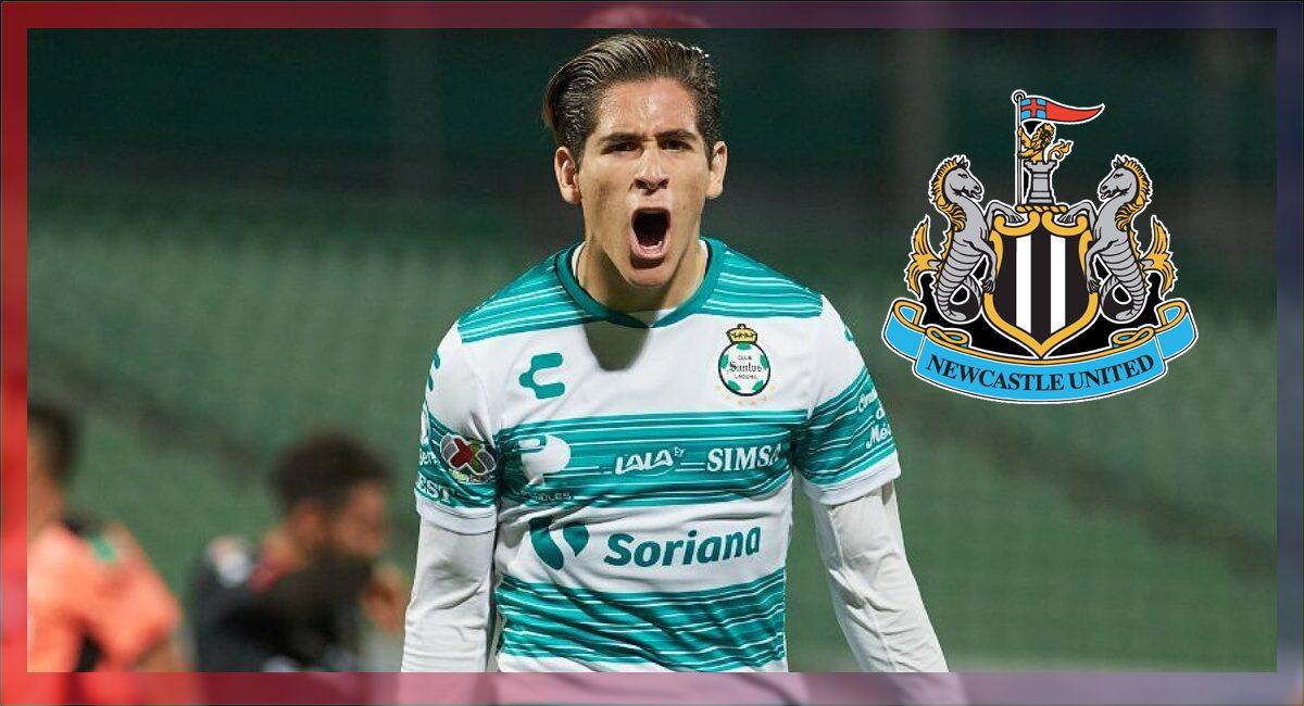 Santiago Muñóz es nuevo jugador del Newcastle United de Inglaterra