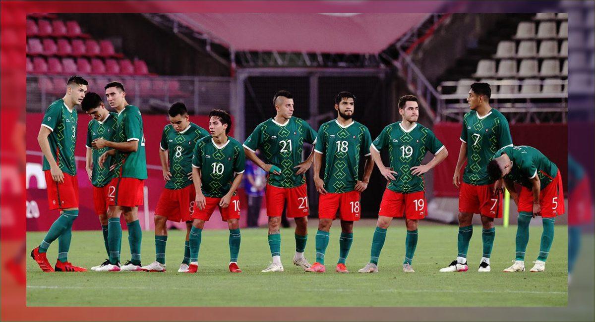 Seleccion mexicana perdió ante Brasil en los juegos olímpicos Tokio 2021
