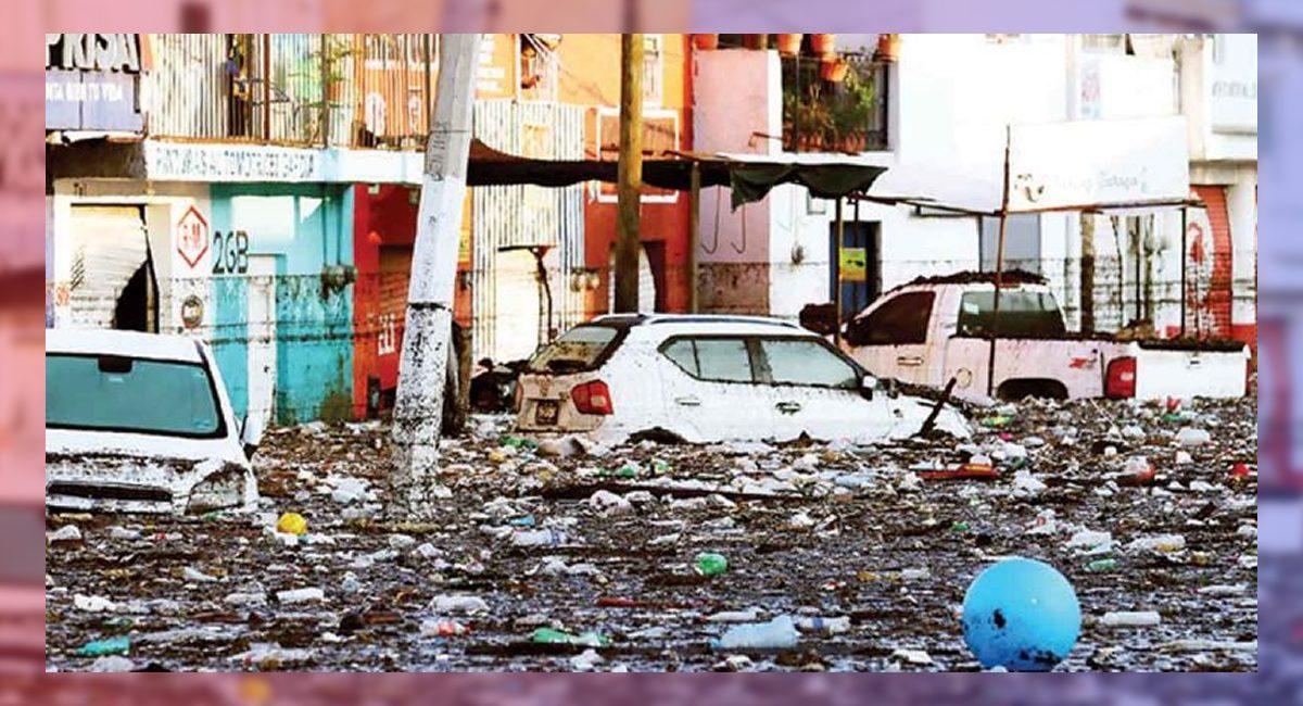 Toneladas de basura provocan inundaciones en Zapopan Jalisco