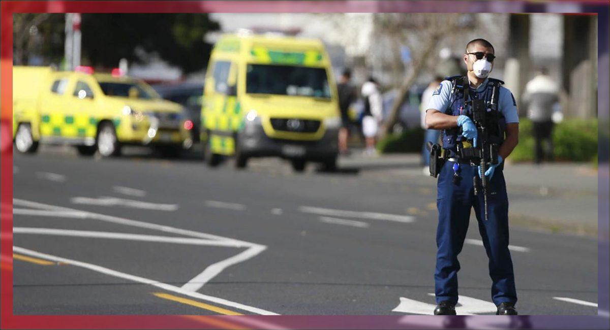 Un hombre perteneciente al estado islámico apuñaló a 6 personas antes de ser abatido por la policía en Nueva Zelanda