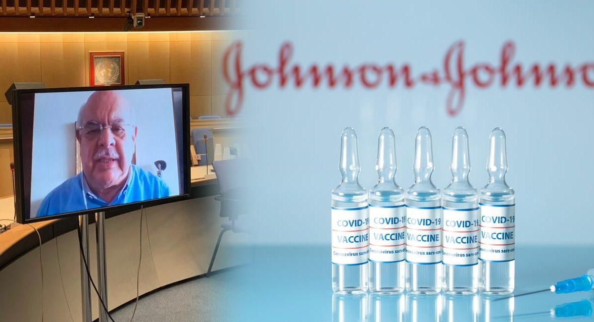 Vacuna Johnson y Johnson - Alejandro Cravioto OMS