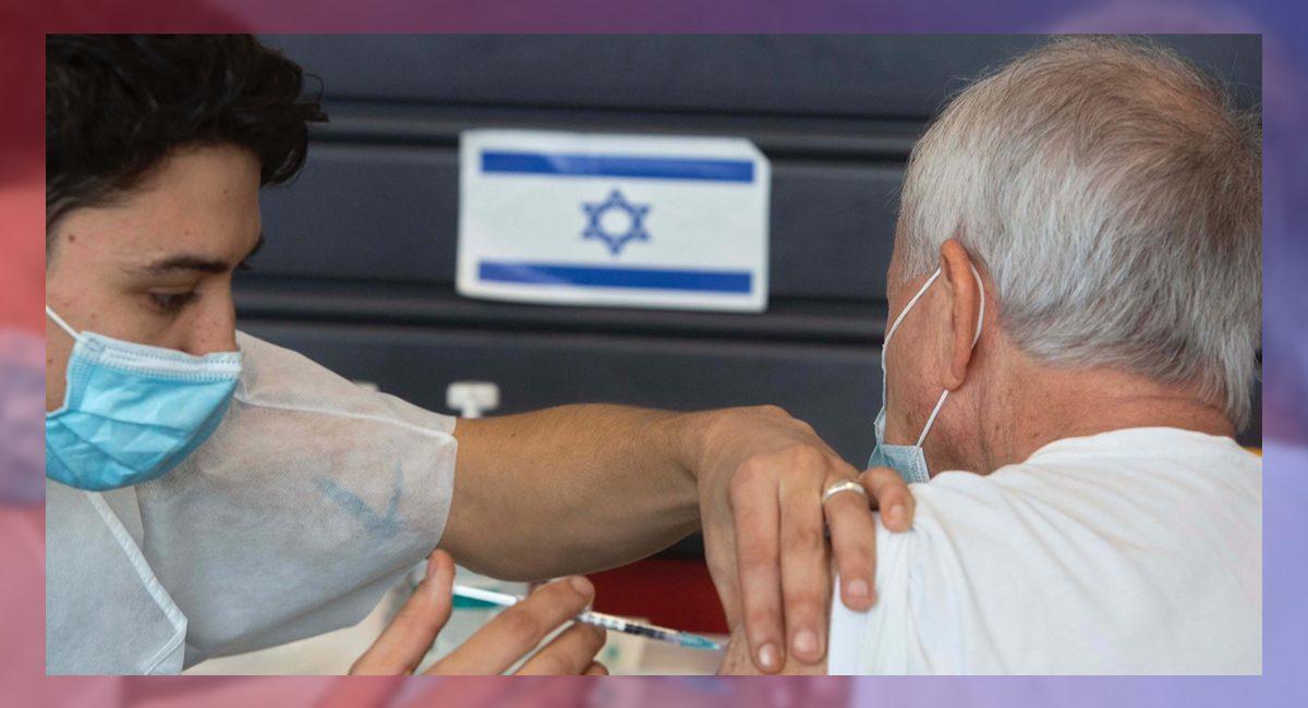 Vacunación de adultos mayores en Israel