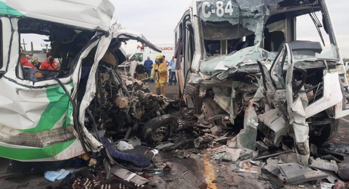 accidente 16 muertos