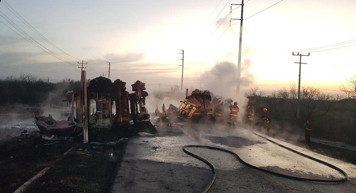 accidente en Nuevo León deja al menos 11 muertos