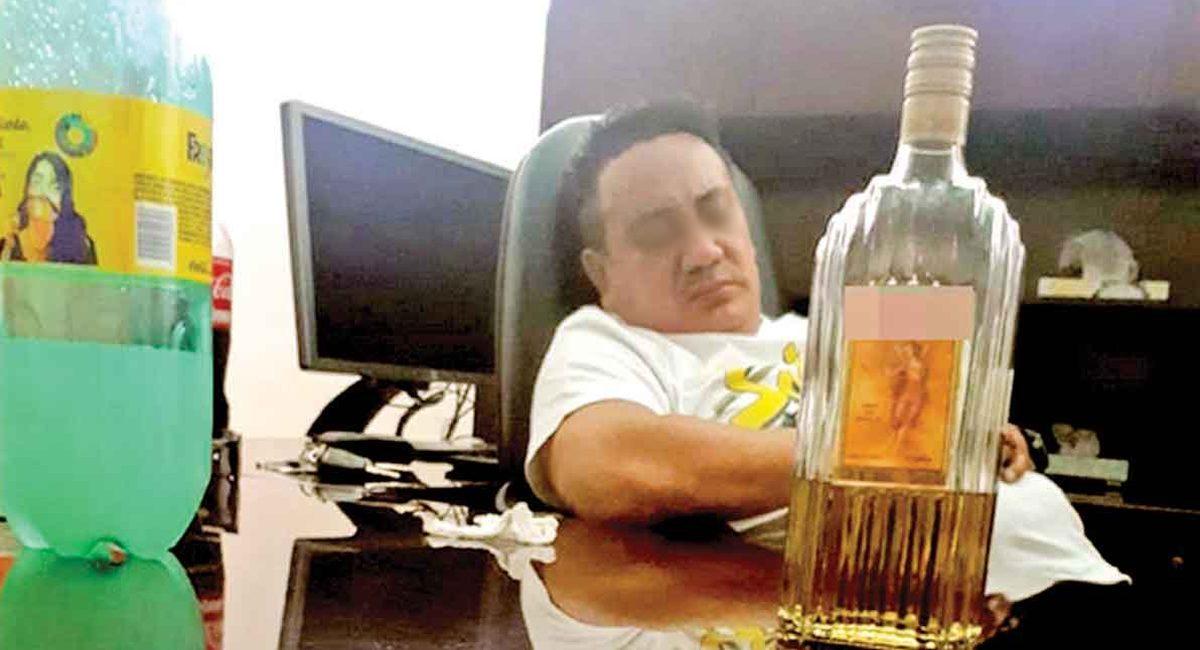 angelito dormido borracho