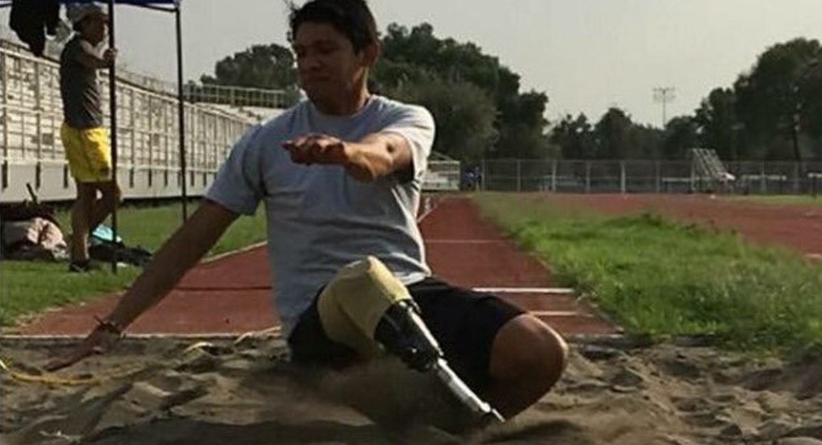 atleta pierna