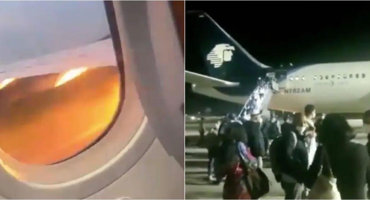 avion ave motor aborta