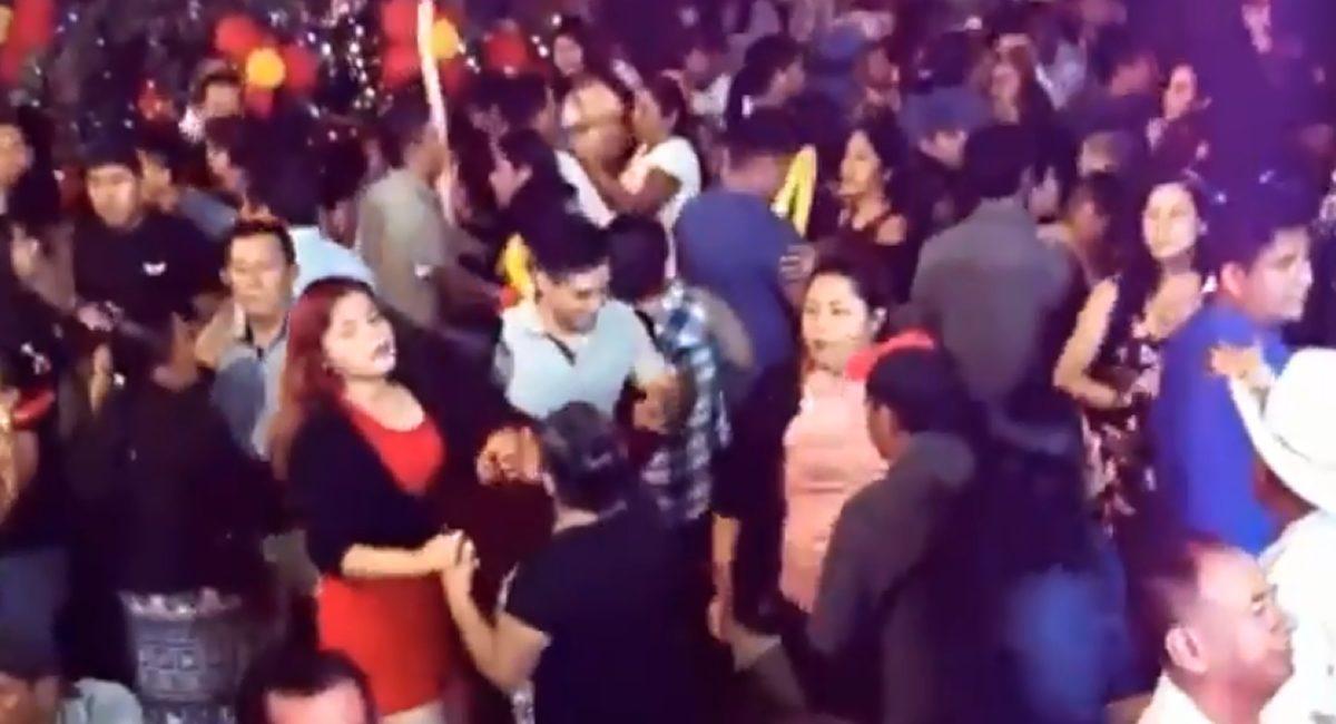 baile oaxaca covid