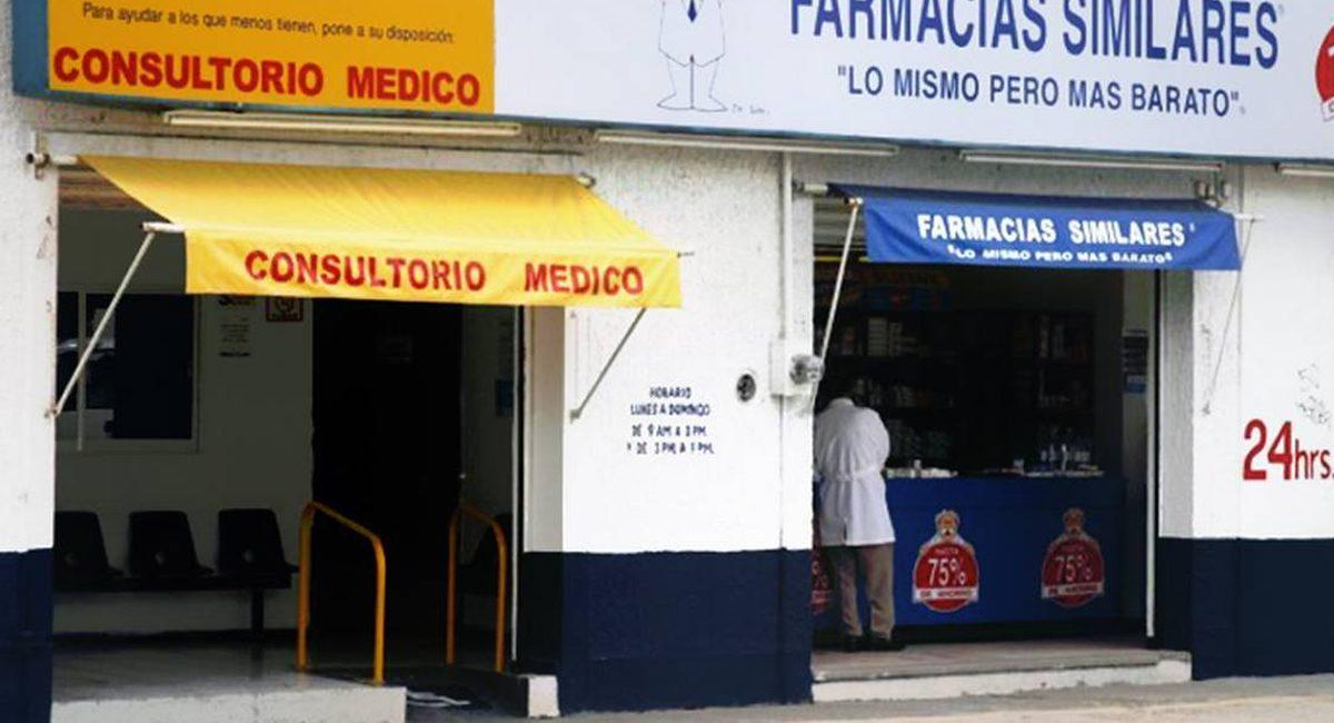 consultorio medico farmacia