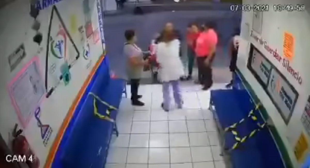 farmacia - agresión a doctora - Estado de México