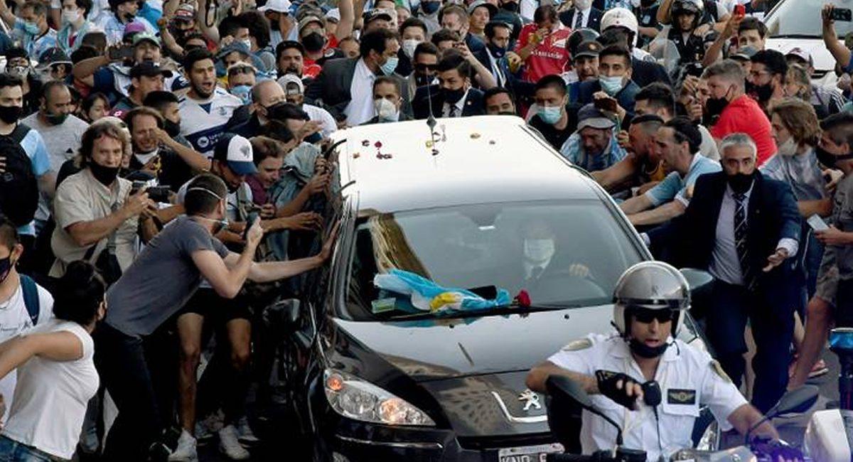 funeral diego maradona