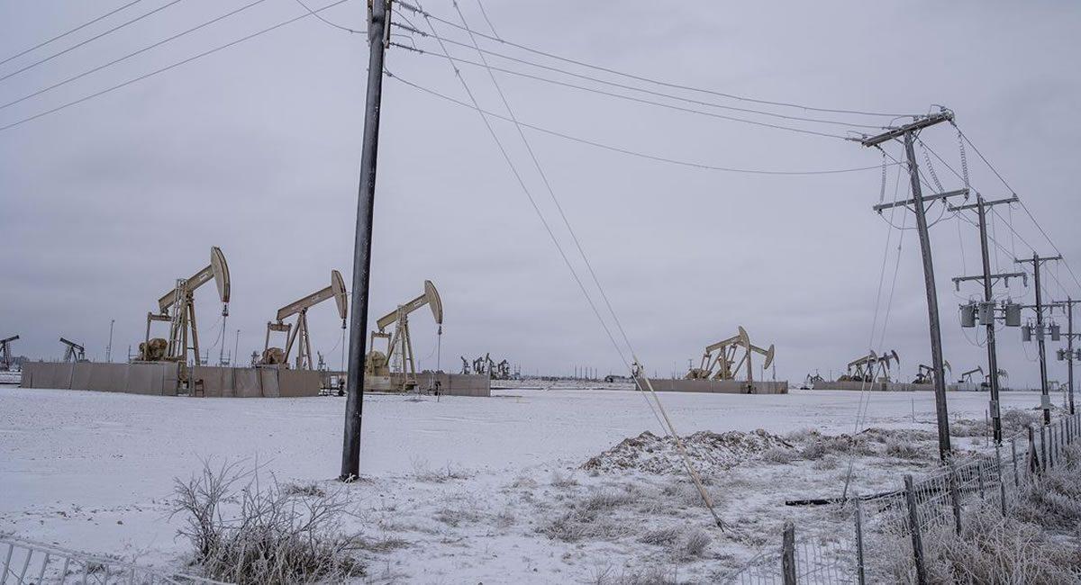 gas congelado texas