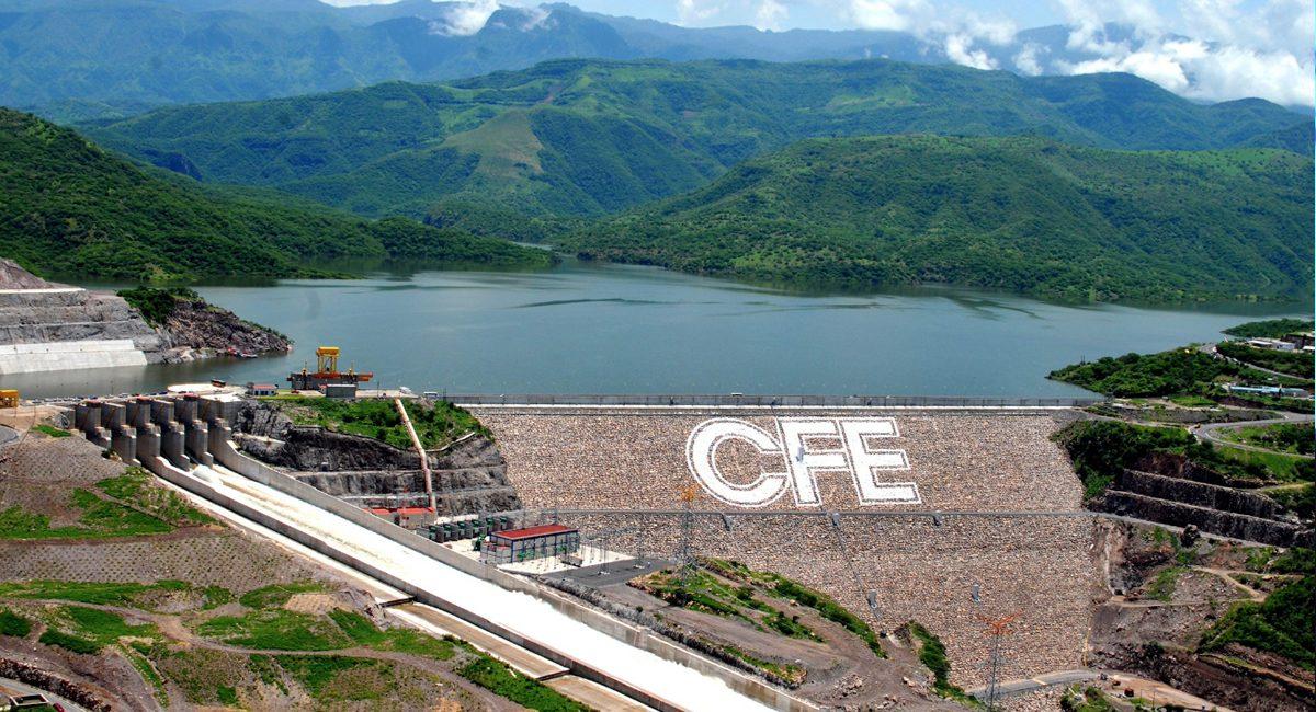 hidroeléctrica CFE