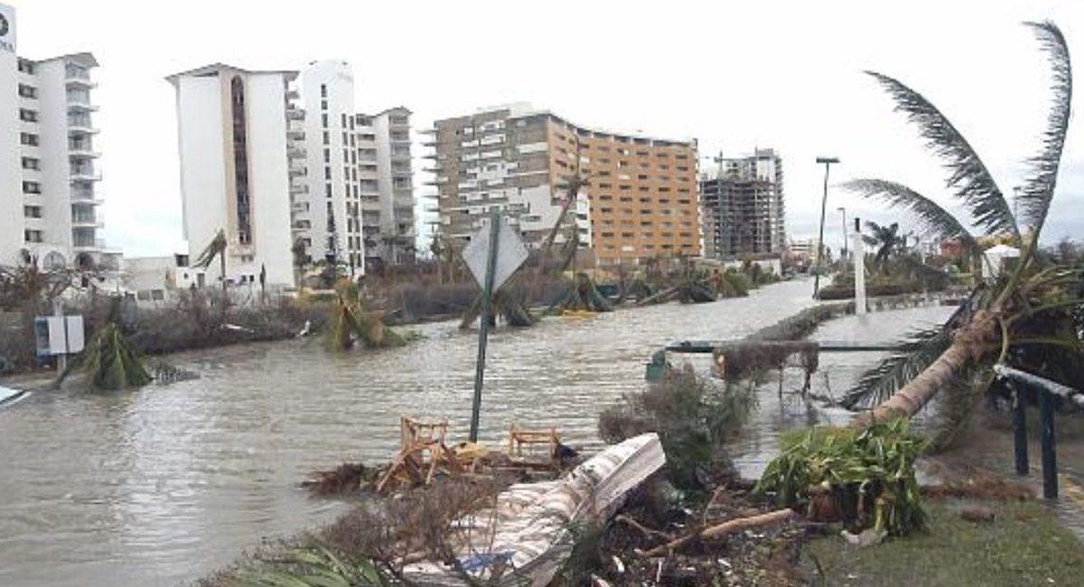 huracan delta cancun