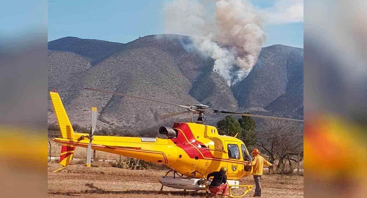 incendio forestal nuevo leon