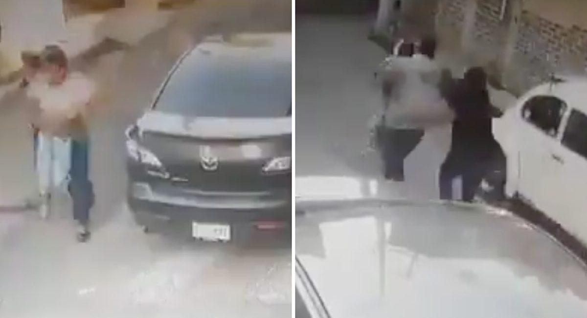 intento de secuestro niño