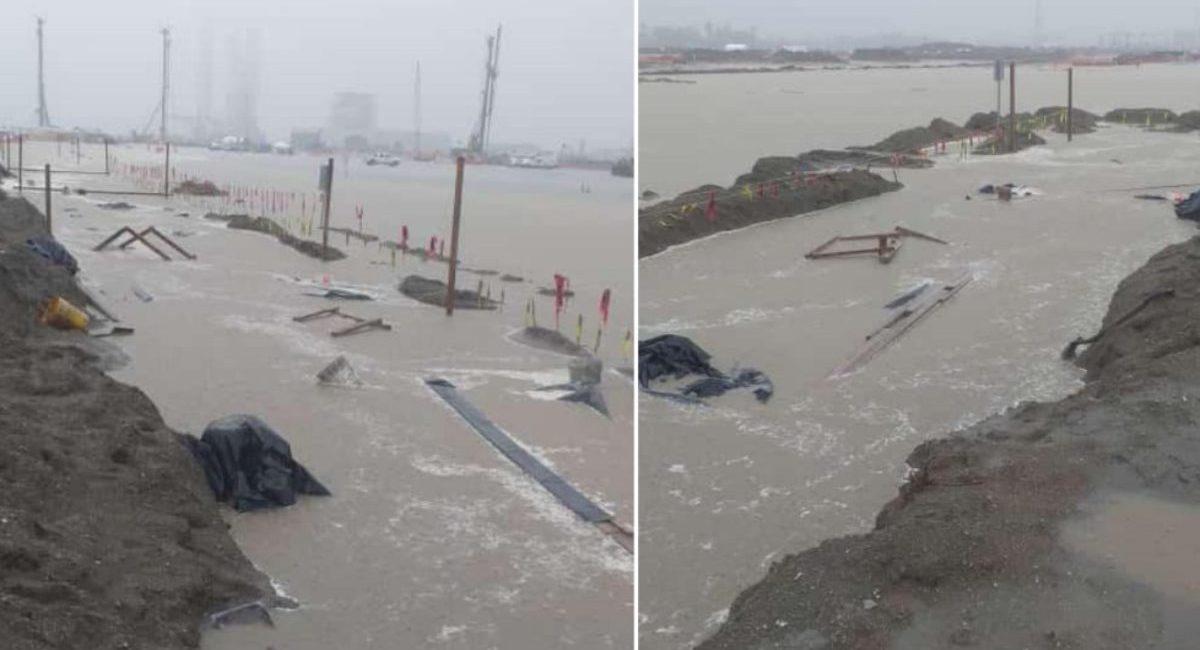 inundacion refinería dos bocas