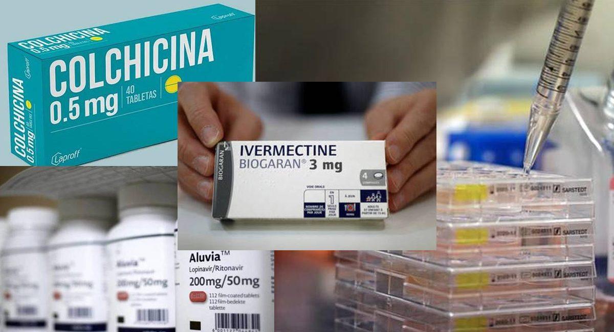 medicamentos contra el covid