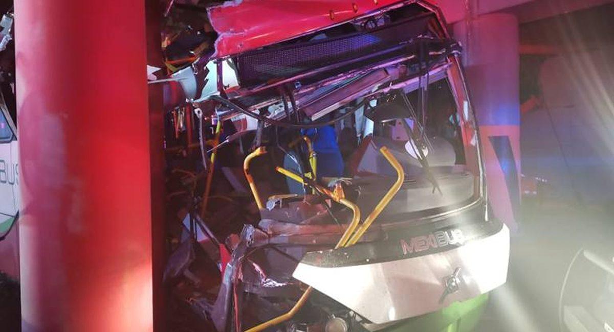 mexibus accidente