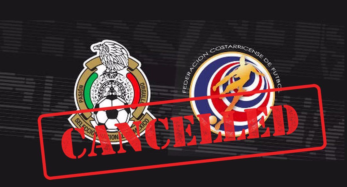 partido cancelado mexico costa rica