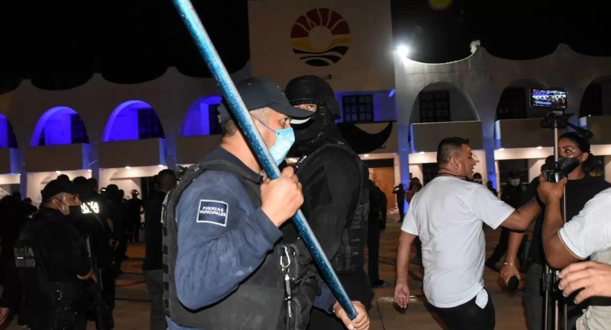 policía cancun