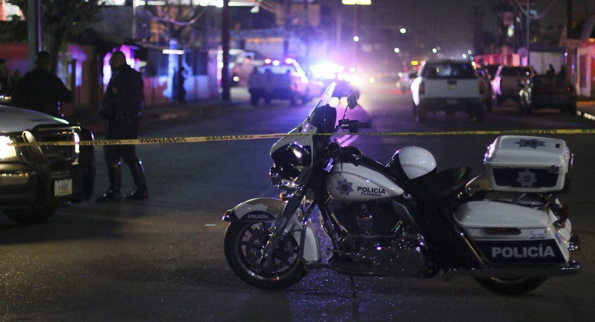 policia crimen escena
