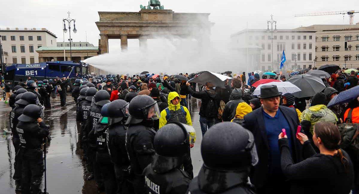 protesta alemania anti covid
