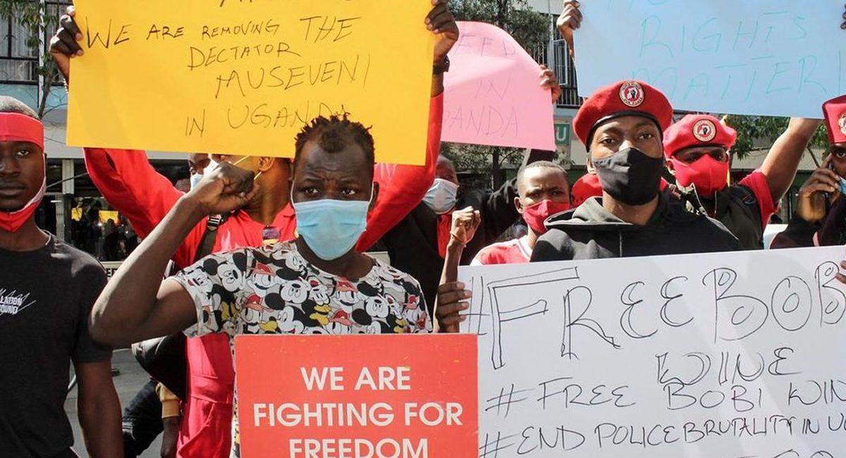 protestas en uganda