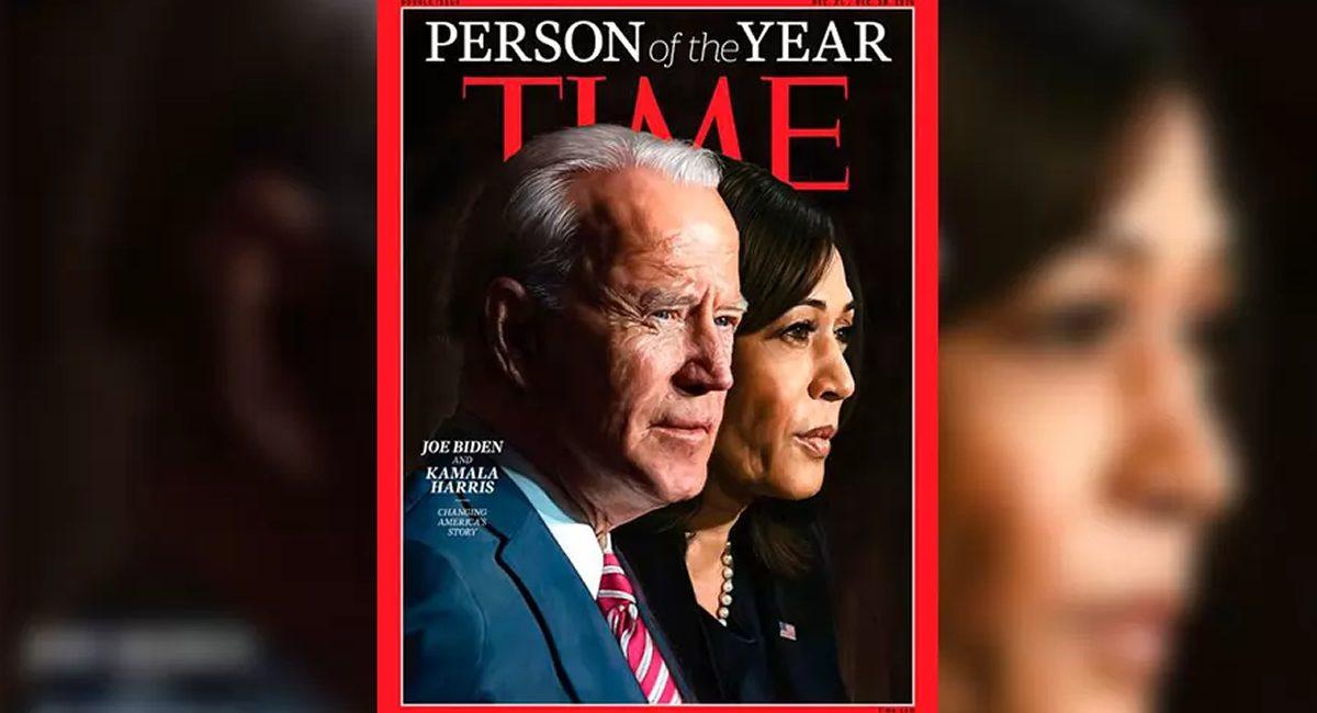 revista time - biden