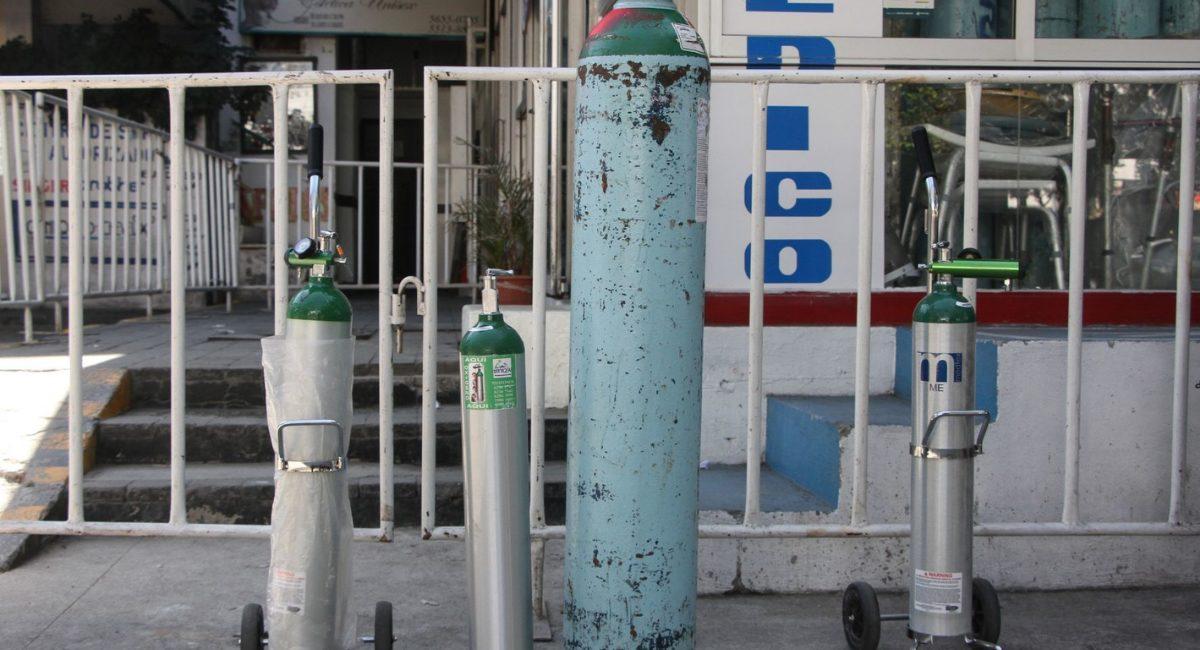 tanques de oxigeno