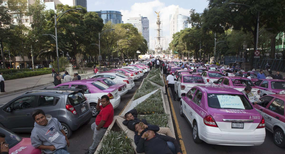 taxistas angel