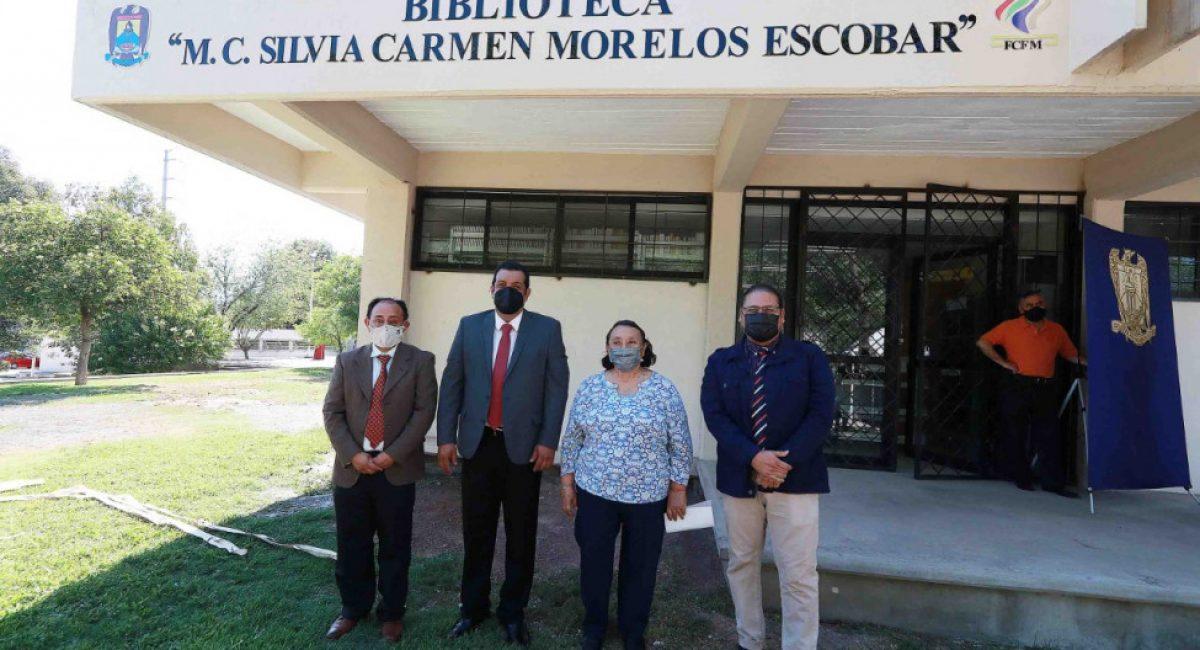 """thumbnail_Imposición del nombre """"Mtra. Silvia Carmen Morelos Escobar"""" a la Biblioteca de la Facultad de Ciencias Físico Matemáticas 4"""