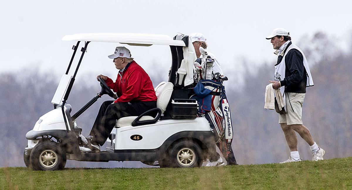 trump golf