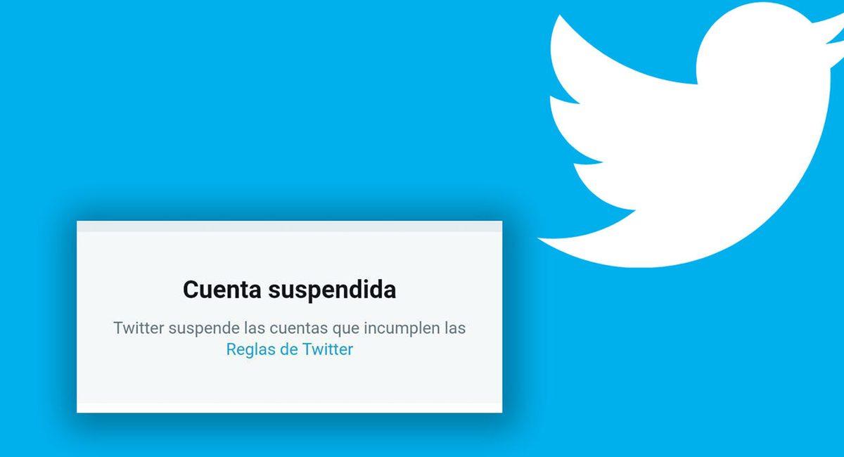 twitter suspendida